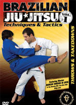 Throws and Takedowns DVD by Marcus Vinicius Di Lucia 1