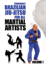 Brazilian Jiu-Jitsu for All Martial Artists DVD by Tinguinha 1