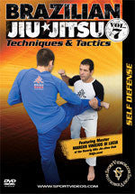 BJJ Self Defense DVD by Marcus Vinicius Di Lucia 1
