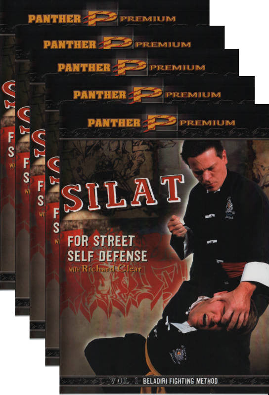Silat for Street Self Defense with Richard Clear 5 DVD Set 1