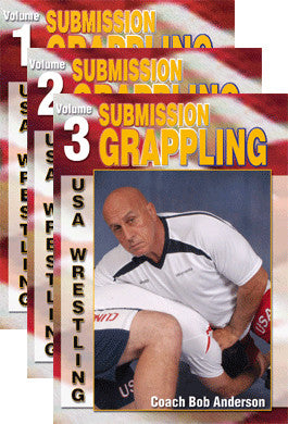 Submission Grappling 3 DVD Set by Bob Anderson - Budovideos