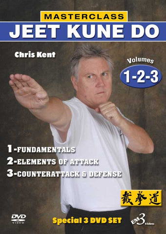 Masterclass Jeet Kune Do 3 DVD Set by Christ Kent