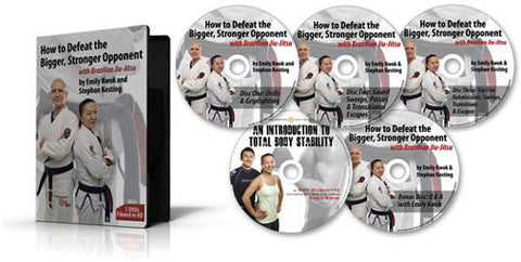 How to Defeat the Bigger, Stronger Opponent 5 DVD Set with Stephan Kesting & Emily Kwok 2