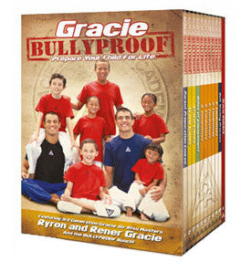 Gracie Bullyproof 11 DVD Package by Gracie Academy - Budovideos Inc