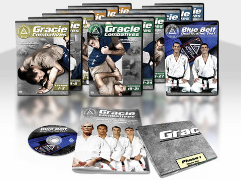 Gracie Combatives 13 DVD Set by Gracie Academy 1