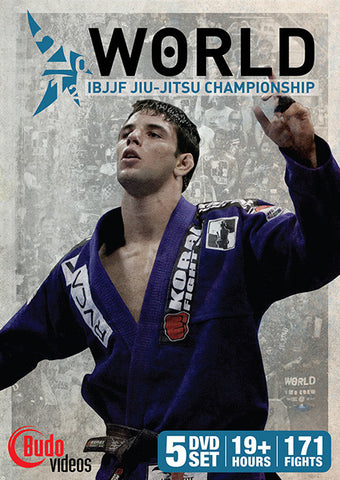 2012 Jiu-jitsu World Championships Complete DVD Set