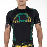 Bezerra Short Sleeve Rash Guard by Manto - Budovideos Inc