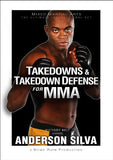 Takedowns & Takedown Defense for MMA DVD with Anderson Silva - Budovideos