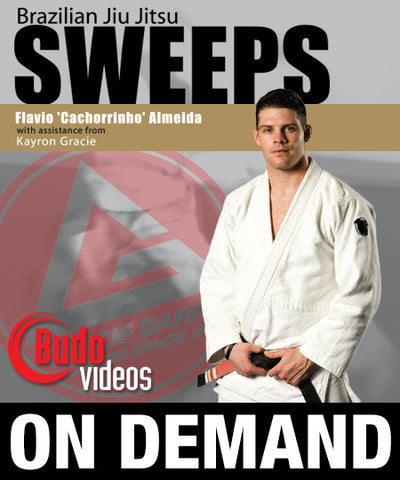 BJJ Sweeps by Flavio Almeida (On-demand) - Budovideos