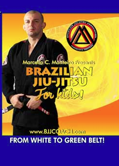 BJJ Curriculum for Kids 4 DVD Set with Marcello Monteiro 1