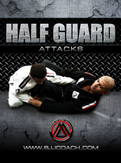 Half Guard Attacks DVD with Marcello Monteiro 1