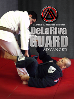 Advanced De La Riva Guard DVD with Marcello Monteiro - Budovideos