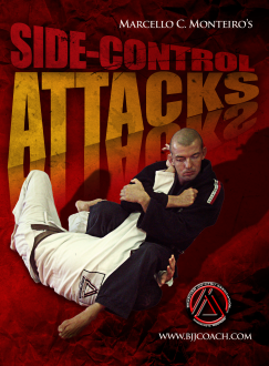 Side Control Attacks DVD with Marcello Monteiro - Budovideos