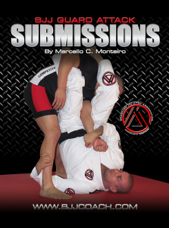 Guard Attack Submissions DVD with Marcello Monteiro - Budovideos