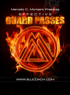 Effective Guard Passes DVD with Marcello Monteiro 1