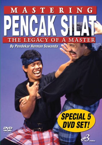 Mastering Pencak Silat 5 DVD set with Herman Suwanda