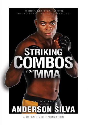 Striking Combos for MMA DVD with Anderson Silva - Budovideos Inc