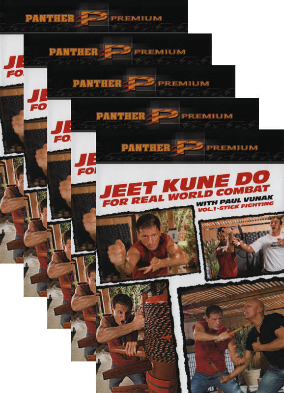 Jeet Kune Do for Real-World Combat 5 DVD Set with Paul Vunak - Budovideos