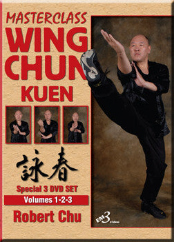 Masterclass Wing Chun Kuen 3 Vol 3 DVD Set with Robert Chu - Budovideos