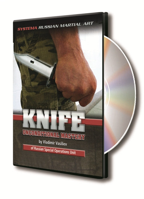 Knife Unconditional Mastery DVD with Vladimir Vasiliev - Budovideos