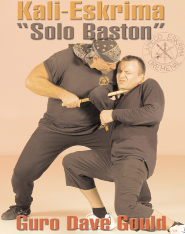 Lameco Eskrima Solo Baston Single Stick DVD with Dave Gould - Budovideos Inc
