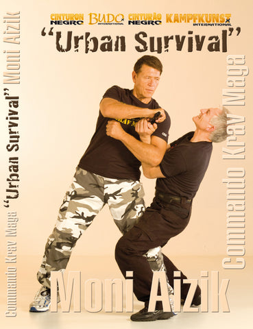 Commando Krav Maga Urban Survival DVD by Moni Aizik - Budovideos