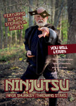 Ninjutsu Secrets DVD 3: Shuriken (Throwing Stars) with Stephen Hayes - Budovideos