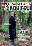 Ninjutsu Secrets DVD 5: Bo Jitsu (Long Staff) with Stephen Hayes - Budovideos