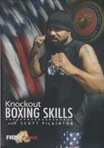Knockout Boxing Skills DVD with Scott Pilkington - Budovideos