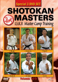 Shotokan Masters: ISKF Master Camp Training 3 DVD Set 1
