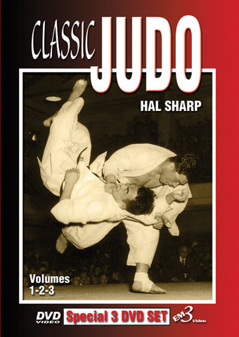 Classic Judo Vol 1-3 (3 DVD Set) - Budovideos Inc