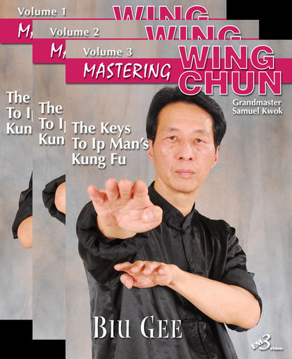 Mastering Wing Chun: Keys to Ip Man's Kung Fu 3 DVD Set with Samuel Kwok - Budovideos