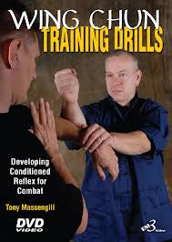 Wing Chun Training Drills DVD with Tony Massengill
