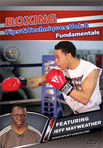 Boxing Tips and Techniques DVD 1: Fundamentals by Jeff Mayweather - Budovideos
