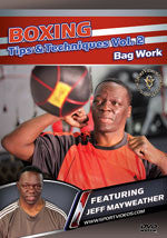 Boxing Tips and Techniques DVD 2: Bag Work by Jeff Mayweather - Budovideos