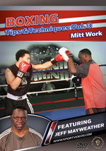 Boxing Tips and Techniques DVD 3: Pad Drills by Jeff Mayweather - Budovideos