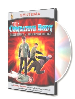 Combative Body: Tissue Impact and Pre-Emptive Defense DVD by Vladimir Vasiliev - Budovideos
