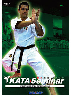 Italian KATA Seminar of the Strongest in the World DVD 1
