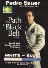 White to Blue BJJ Training DVD with Pedro Sauer - Budovideos