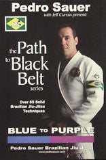 Blue to Purple BJJ Training DVD with Pedro Sauer - Budovideos