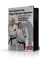 How to Defeat the Bigger, Stronger Opponent 5 DVD Set with Stephan Kesting & Emily Kwok - Budovideos
