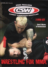 Wrestling for MMA 2 DVD Set with Erik Paulson 1