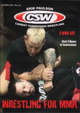 Wrestling for MMA 2 DVD Set with Erik Paulson - Budovideos Inc