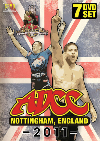 ADCC 2011 Complete 7 DVD Set - Budovideos Inc