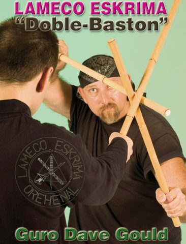 Lameco Eskrima Doble Baston DVD with Dave Gould - Budovideos