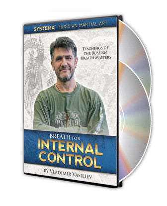 Breath for Internal Control 2 DVD Set by Vladimir Vasiliev - Budovideos