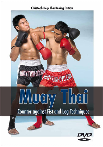 Counter against Fist and Leg Techniques DVD by Christoph Delp - Budovideos