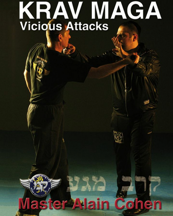 Krav Maga Vicious Attacks DVD by Alain Cohen - Budovideos