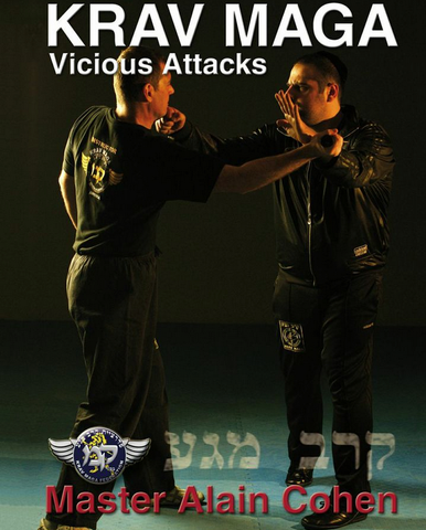 Krav Maga Vicious Attacks DVD by Alain Cohen
