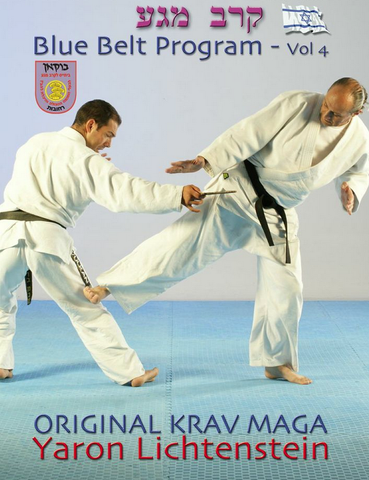Original Krav Maga Blue Belt program Vol 4 DVD by Yaron Lichtenstein - Budovideos